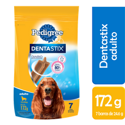 Alimento Para Perro Pedigree Premios Dentastix Carne Adulto 7 U