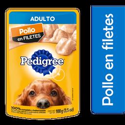 Alimento Para Perro Pedigree Pollo en Filetes Adulto 100 g