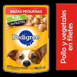 Alimento Para Perro Pedigree Pollo y Vegetales 100 g