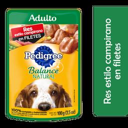Alimento Para Perro Pedigree Balance Natural Res 100 g
