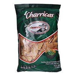 Totopos Charricos Charricas Tostadas y Saladas 280 g