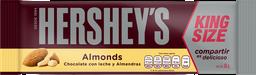 Chocolate Hersheys Almonds King Size 60 g