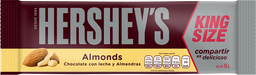 Chocolate Hersheys Almonds King Size 60 g