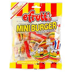 Gomitas Efrutti Mini Burguer 63 g