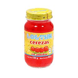 Cerezas Lol-Tun Enteras en Almibar 132 g