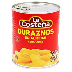 Duraznos en Almíbar La Costeña Rebanadas 820 g