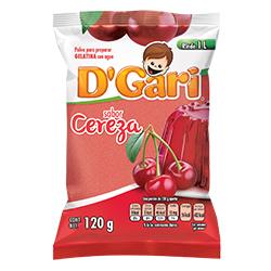Gelatina de Agua DGari Cereza en Polvo 120 g