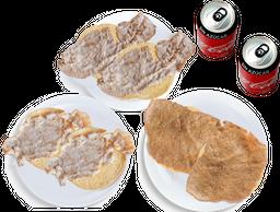 Envío Gratis: 6 Tacos + 2 Coca-Cola Sin Azúcar
