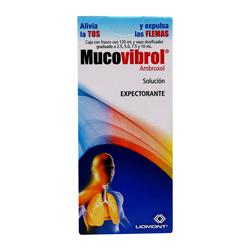 Distliomont Mucovibrol 300 Mg Sol 120 Ml