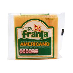 Queso Americano Franja en Rebanadas 144 g