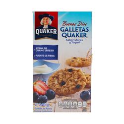 Quaker Galleta de Avena Moras y Yogurt