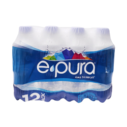 Agua Natural E Pura 330 mL X 12
