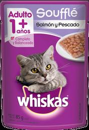 Alimento Para Gato Whiskas Salmon y Pescado 85 g