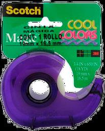 Cinta Cool Colors Scotch 19 mm X 16.5 m 1 U