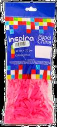Papel China Inspira Color Rosa En Tiras 10 g
