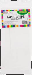 Papel Crepé Dietrix Blanco 50 X 190 cm 1 U