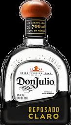 Tequila Don Julio Rreposado Claro 700 mL
