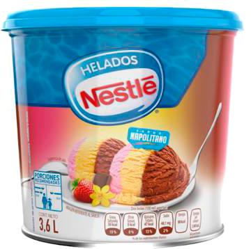 Helado Nestle Sabor Napolitano 3 6 L En Walmart Express Ciudad De Mexico