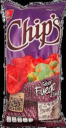 Botanas Chips Papas Fuego Limón 100 g