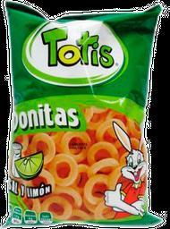 Botana Donitas Totis Sal y Limón 50 g