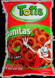 Botana Totis Donitas Chile y Limón 50 g