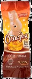 Chocolate Conejos El Original Con Leche 20 g