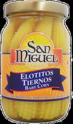 Elotes Tiernos San Miguel en Frasco 220 g