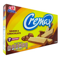 Galletas gamesa Cremax Sabor Chocolate 7 Paketines 322 g