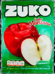 Polvo Para Bebida Zuko Sabor Manzana 15 g