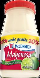 Mayonesa Mccormick Con Jugo De Limones 870 g