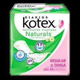 Kotex Pantiprotector  Naturals Regular O Tanga