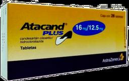 Atacand Plus 28 Tabletas (16 mg/12.5 mg)