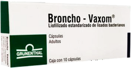 Broncho-Vaxom Adulto 10 Cápsulas (7 mg)