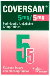 Coversam 30 Comprimidos (5 mg/5 mg)