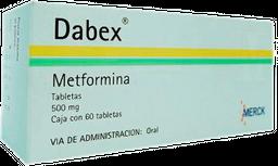 Dabex 60 Tabletas (500 mg)