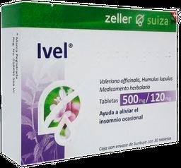 Up Pharma Ivel 0.77/0.036 Mg Tabletas