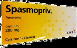 Spasmopriv 12 Cápsulas (200 mg)