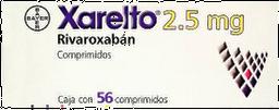 Bayer Xarelto 2.5Mg Com 56(A)