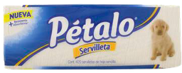Servilletas Pétalo 420 U