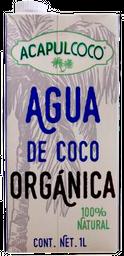 Agua De Coco Acapulcoco Orgá¡nica 1 L