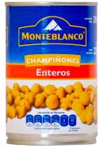 Champiñones Monteblanco Enteros 380 g