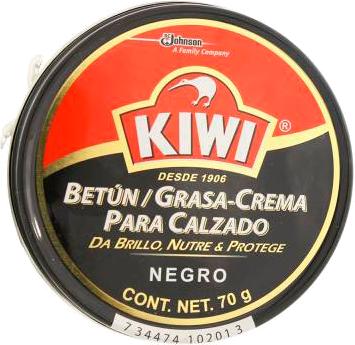 9b1ef18a Betún grasa Crema Kiwi Para Calzado Negro a domicilio en México - Rappi
