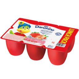 Danonino Lunch Pack Con Fruta Natural 252 g