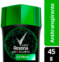 Desodorante Rexona Men Ph Clinic Citrus 45 g