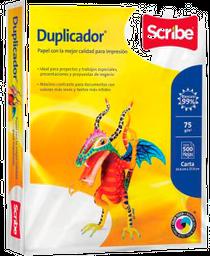 Papel Duplicador Scribe Tamaño Carta 500 Hojas