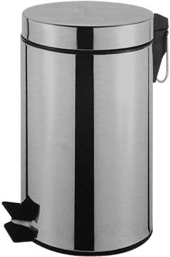 Bote De Basura Hut De Pedal Capacidad 12 Litros
