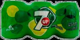 Refresco 7 Up Sabor Lima 237 mL x 6