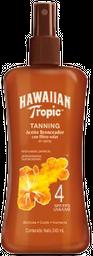 Bronceador Hawaiian Tropic Tanning Con Filtro Solar 240 mL