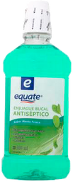 Enjuague Bucal Equate Antiséptico Sabor Menta Fresca 500 mL