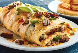 Spicy Poblano Omelette